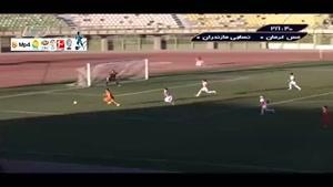 مس کرمان ۱-۰ نساجی مازندران