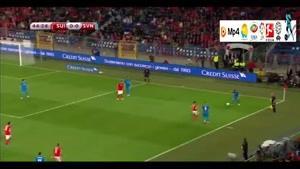 سوئیس ۳-۲ اسلوونی