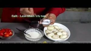 طرز تهیه ی خوراک قارچ