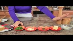 طرز تهیه ی خوراک قارچ و پارمزان