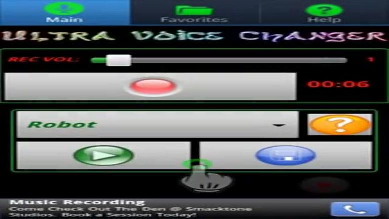 معرفی نرم افزار Ultra Voice Changer