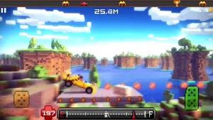 معرفی بازی Blocky Roads