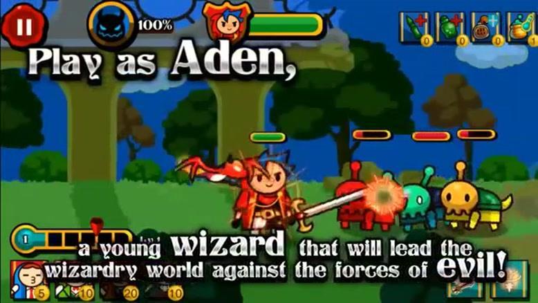 معرفی بازی Wizard & Dragon Defense
