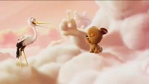 انیمیشن کوتاه نیمه ابری