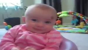 ترسیدن نوزاد