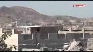 فیلم/نبرد یمنیها با مزدوران وابسته به آل سعود در تعز