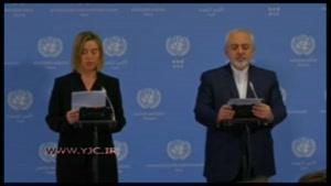 قرائت متن بیانیه مشترک ایران و ۱ ۵