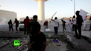 فیلم/ تظاهرات مردم بحرین در اعتراض به اعدام شیخ نمر