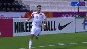فیلم/ خلاصه دیدار تیم های فوتبال امید ایران - سوریه