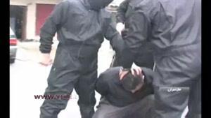 لحظه دستگیری یکی از اراذل خطرناک مازندران
