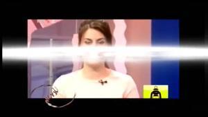 بیهوش شدن مجری زن هنگام پخش زنده