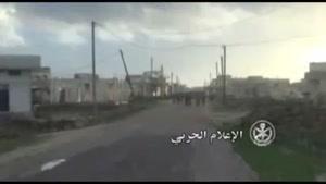 فیلم/تسلط ارتش سوریه بر دیرالفردیس