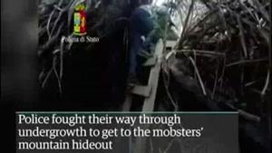 فیلم/۲ عضو خطرناک مافیا در دام پلیس ایتالیا