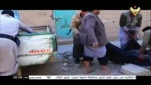 فیلم/ بمباران مناطق مسکونی در استان صعده
