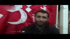 پیام جوان انگلیسی به حاج محمود کریمی