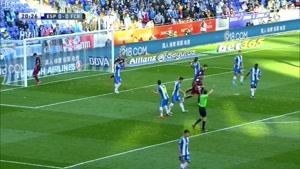خلاصه بازی فوتبال بارسلونا و اسپانیا