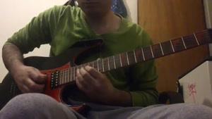 گیتار سولوی دوم mr. crowly by ozzy osbourne با کمی تغیرات.