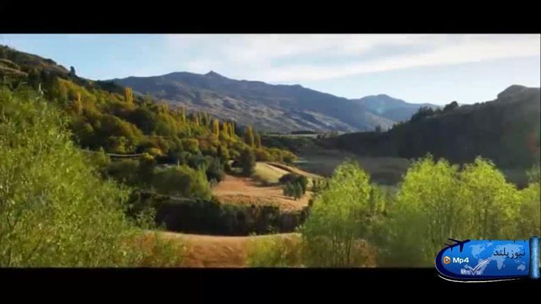 طبیعت کشور نیوزیلند یا زلاندِ نو