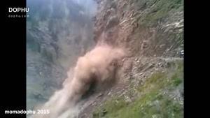 تصادفات و ریزش کوه واقعی