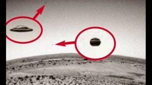 بشقاب پرنده ها در مریخ
