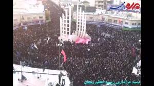 فیلم/ دسته عزاداری زینبیه اعظم زنجان