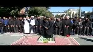 اقامه نماز ظهر عاشورا در کردستان