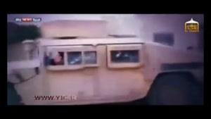 فیلمبرداری از عملیات انتحاری توسط پهباد