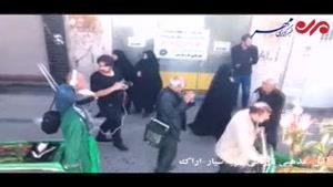 فیلم/برگزاری آئین تعزیه سیار در بازار تاریخی شهر اراک