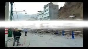 خسارات مهیب در اثر رانش زمین