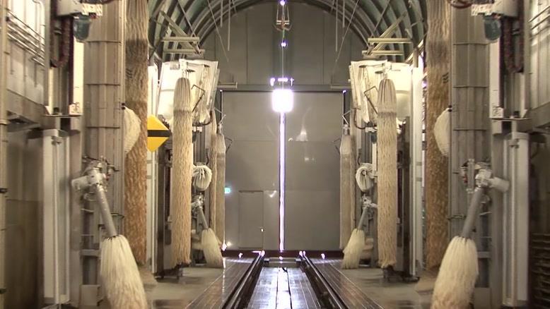 سامانه شستشوی قطار