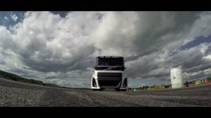 سریع ترین کامیون جهان ولوو ۲۰۱۷