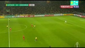 خلاصه بازی دورتموند ۱-۱ اونیون برلین (پنالتی ۳-۰)