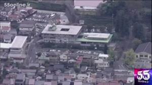 لحظه وقوق زلزله ۶.۶ ریشتری در ژاپن