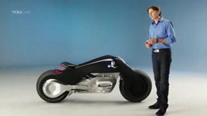BMW از کانسپت نسل آینده موتورسیکلت هایش رونمایی کرد