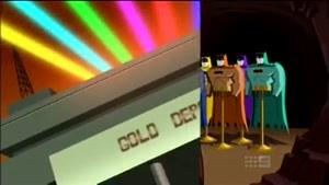 Dinamic Duo vs Firefly & Rainbow Creature