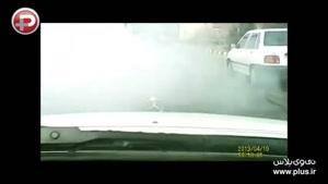 عملیات دستگیری یک قاچاقچی، خیابان های تهران را بهم ریخت/تعقیب و گریز پلیس تهران!