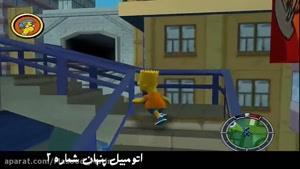 اتومبیل های مخفی در بازی قدیمی The Simsons: Hit & Run
