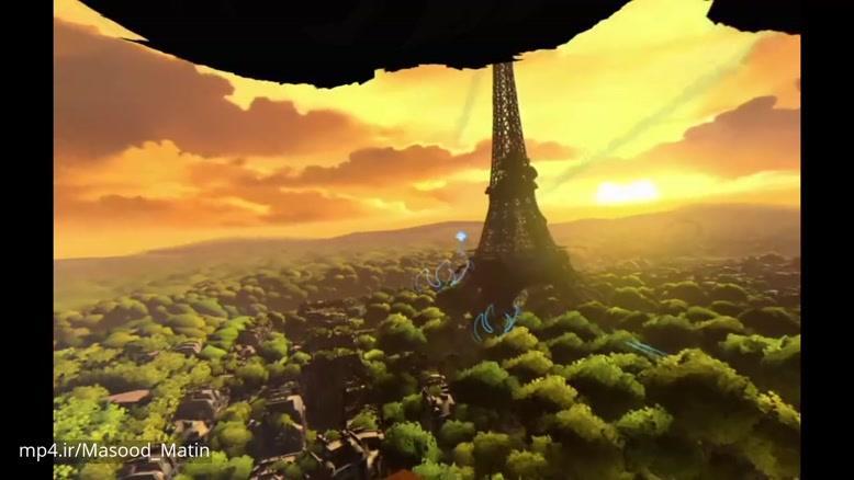 گیم پلی بازی Eagle Flight برای PlayStation VR (کیفیت HD)