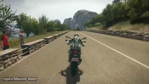 گیم پلی بازی Ride ۲ بر روی PS۴ Pro (کیفیت HD)