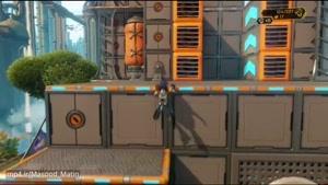 گیم پلی بازی Ratchet & Clank بر روی PS۴ Pro