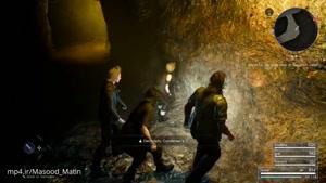 جدیدترین گیم پلی بازی Final Fantasy XV (سیاهچال)