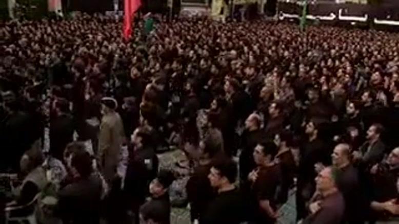 حاج محمود کریمی شب ششم محرم ۹۵