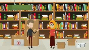 انیمیشن تبلیغاتی به سفارش انتشارات آها