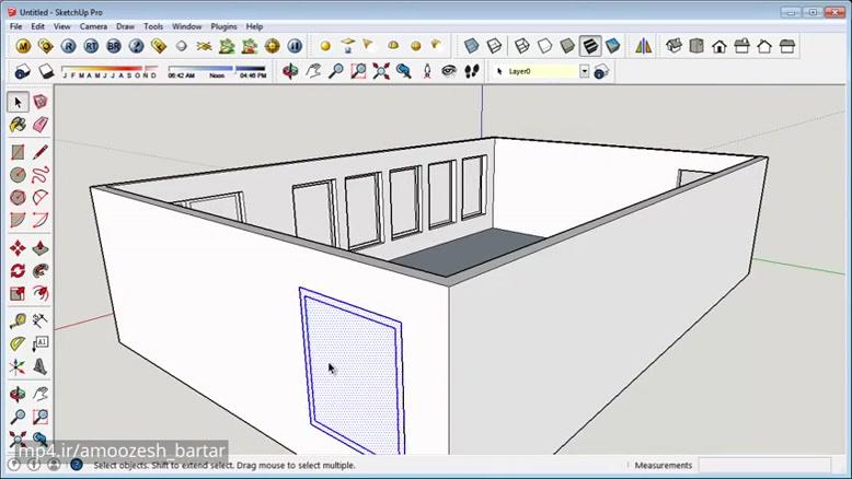 mp4 ir - فیلم آموزش اسکچاپ sketchup Layers Entity