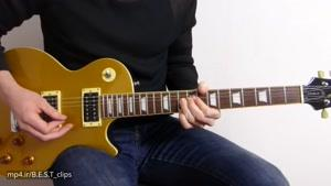 آموزش گیتار زدن آهنگ Guns N&#۱۴۶ Roses