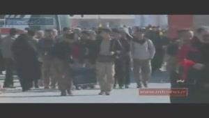 فیلم/آخرین وضعیت تردد زوار در مرز مهران