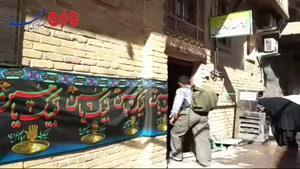 فیلم/ حضور زائران حسینی در خانه امام خمینی(ره) واقع در نجف