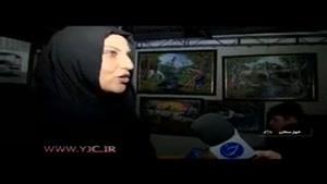 نقاشیهای چشم نواز هنرمند معلول خوزستانی