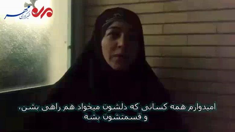 فیلم/حرفهای شنیدنی از زبان عاشقان ابا عبدالله الحسین (ع)