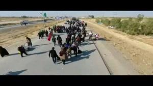 فیلم/حضور گسترده زائران اربعین در مرز مهران